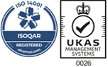 ISOQAR Registered & UKAS Management Systems